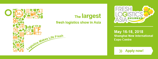 Apply for fresh logistics Asia 2018 booking stands